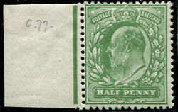 ½d Sg 267 Variety, 'pale Olive-green' Mint, Superb L/m, Lovely Colour Of This S