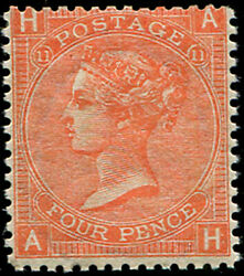 4d Sg 94, Pl.11 Mint, Well Centred, Fine Fresh M/m, Good Colour And Gum Of This D