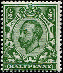 ½d Sg 3384 Variety, 'deep Myrtle-green' U/m, Fab Colour Of This Scarcer Shade