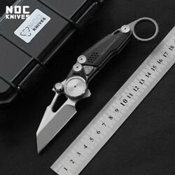 Limited Mt-06 Best Pocket Folding Knife M390 Blade Titanium Outdoor Camping Iii
