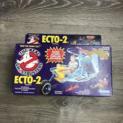 New Vintage Real Ghostbusters Ecto-2 Helicopter Vehicle 1986 Kenner Toy Rare