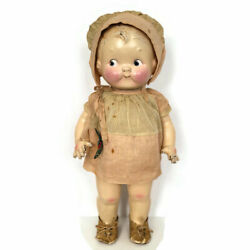 Antique American Character Campbell Kid Petite Doll Composition Dolly Dingle 12