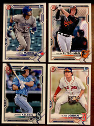 2021 Bowman Prospect Paper Base Pick Choose Your Card UPDATED Free Shipping