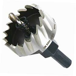 1-3/4 Inch Hss M2 Drill Bit Hole Saw For Metal, Steel, Iron, Alloy, 1-3/4
