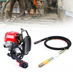 35mm Single Cylinder Concrete Vibrator Machine And 8 Foot Flexible Vibrate Poker