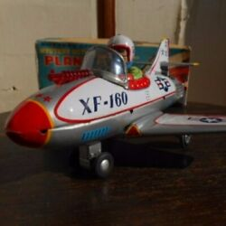 Rare Nomura Toy Fighter Airplane Xf-160 With Box