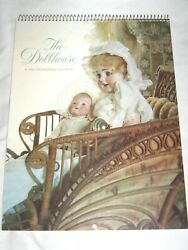 Vintage The Dollhouse Calendar 1984 Stunning Pictures Suitable Framing Jumeau ++