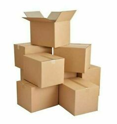 16 X 10 X 6 Cardboard Box Cartons Packing Mailing Shipping Corrugated Moving