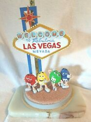 Ron Lee Welcome To Fabulous Las Vegas Nevada Sign Mandm's Item M505 11 3/4 Tall