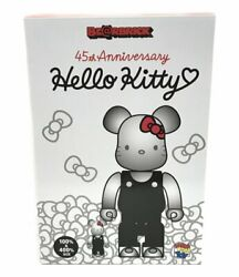 Be @ Rbrick 45th Anniversary Hello Kitty Generation 2000s 100 And 400 Figure Med