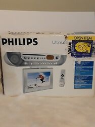 Philips Under Cabinet Dvd Kitchen Radio Lcd Tv Remote Control Cooking Timer