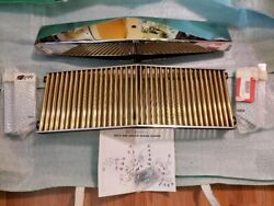 1976-1979 Seville Classic Grille Eandg Classics Hood Cap Gold Grille And 2 Bracket