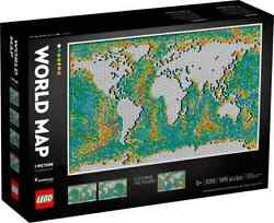 Lego 31203 Art World Map Free Shipping And On Hand