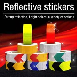 3m Car Auto Reflective Sticker Tape Warning Safety Sticker Decal Car Accessories