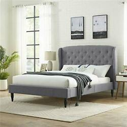 Classic Brands Coventry Upholstered Platform Bed | Assorted Colors Sizes