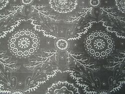 Galleon Cotton Print By Travers Brown Ivory Fabric 3 Yds