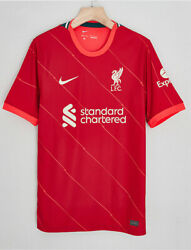 Newest 2021/22 Nike Liverpool Fc Home Shirt Football Jersey For Adult
