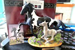 Forever Young Trail Of Painted Ponies Crossbred Friesian Horse And Foal 1e/1615