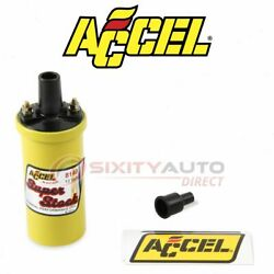 Accel Ignition Coil For 1958-1959 Dodge Truck 3.8l L6 - Wire Boot Spark Plug Go