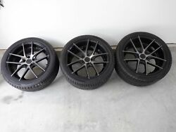 2009-2015 Cadillac Ctsv Coupe Niche Wheels / Tires Oem