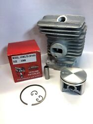 Cylinder And Piston Kit Fits Homelite 4518, 46cc, 43mm Kit, Replaces Part