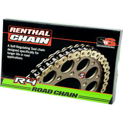 Motorcycle Road Chain R4 Srs 525 112l 12240194 Renthal Transmission