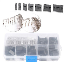 310pcs 2.54mm Male Female Dupont Wire Jumper Assortment W/header Connector Set