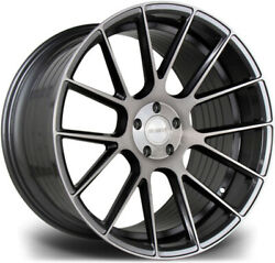 Alloy Wheels Wider Rears 20 Riviera Rf104 For Bmw 4 Series [f33] 14-20