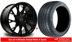Alloy Wheels And Tyres 20 Riviera Rv197 For Bentley Flying Spur [mk2] 13-19