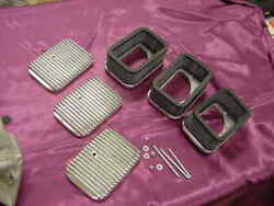 Ford / Corvette Holley Tri Power Finned Air Cleaners