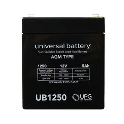 12v 5ah Enersys Np5-12t Genesis Np Series Replacement Sla Battery