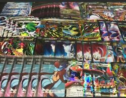 Pokemon Card All Rare 100 Lot Official Cards5 Ultra Rares Included-gx Exshiny