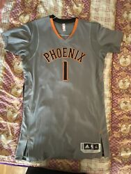 Authentic Nba Adidas Rev30 Pro Cut Devin Booker Sleeved Jersey Size Xl Mesh