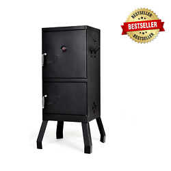 Charcoal Barbecue Vertical Smoker Grill, Large Charcoal Bbq Grill Heavy-duty