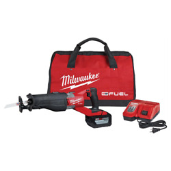 Milwaukee Cordless Reciprocating Saw Kit 18v Lithium-ion Battery Pack Included