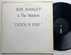 Bob Marley And The Wailers Catch A Fire 1973 Us Island Records Promo Lp Reggae