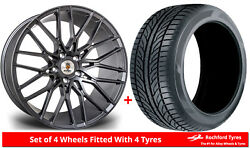 Alloy Wheels And Tyres 20 Stuttgart St8 For Seat Tarraco 19-20