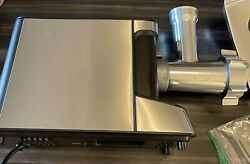Used Electric Meat Grinder Rated 0.8hp With All-copper Motor,5.9lb /min,3 In 1