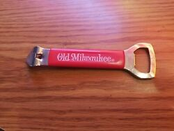 Vtg 1962 Old Milwaukee Beer Can And Bottle Opener Schlitz Brewing Co