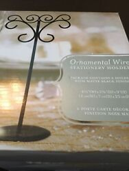 Wedding Star Table Number Holders 3 Boxes Of 6 Holders. All 18 For One Low Cost
