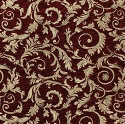 TAPESTRY FABRIC WOVEN JACQUARD 54quot; WIDE FOR UPHOLSTERY DRAPES CRAFTS HANDBAGS