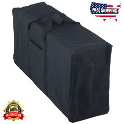 Stove Carry Bag Replacement For Camp Chef 3 Burner Cookers, Heavy Duty, Black