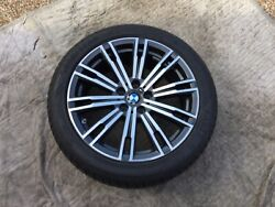 Bmw 3 And 4 Series Oem Genuine Style 790m 18 Wheel/tire/tpms/center Cap Set