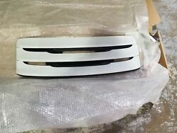 Porsche 991.1 Oem Factory Genuine White Rear Engine Deck Grill For 2012 To 2016