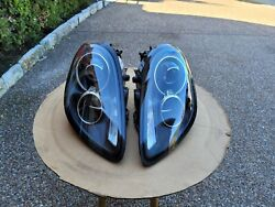 Porsche 981 Boxster Cayman Oem L And R Side Conversion Headlight Assembly