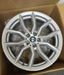 Bmw X5/x6 New Oem Factory Original Style 734 19 Wheels And Center Cap Set Only