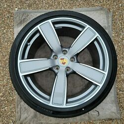 Porsche Cayenne 9y0 Oem Genuine Sport Classic 22 Wheels/tires/tpms And Caps Set