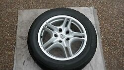 Porsche Oem Factory 18 Cayenne Turbo Ii Wheels Tires And B/silver Center Caps