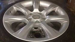 Bmw 5 And 6 Series Oem Factory Style 330 18 Wheels, Tpms, Tires And Center Cap Set