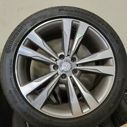 Mercedes Benz S600 And S550 Oem Factory Genuine 19 Wheels Tires And Center Cap Set